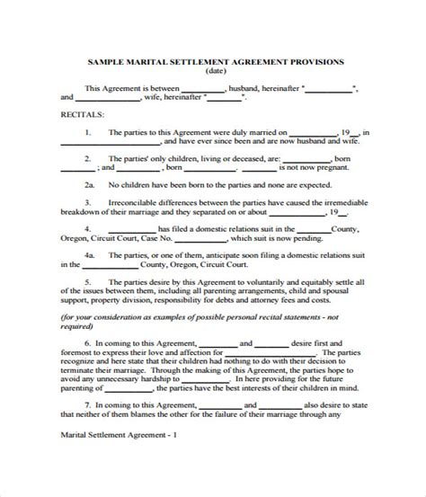 compromise agreement template 100 financial settlement agreement template payment