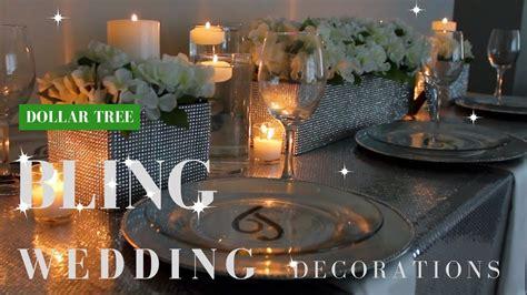 diy wedding decorations dollar tree bling centerpiece