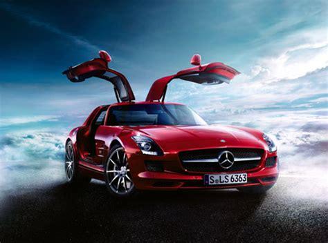 ベンツの新しい「ガルウイング」スポーツカー――sls amg itmedia ビジネスオンライン