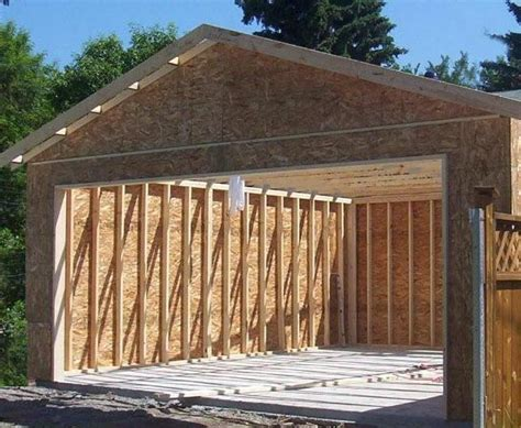 Garage Package Edmonton by All Fab Building Components Garage Shed Packages