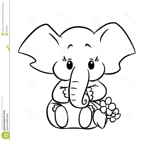 baby elephant coloring pages print tag baby elephant coloring pages print kids coloring pages