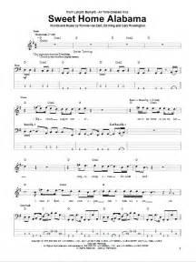 sweet home alabama piano sheet sweet home alabama bass guitar tab by lynyrd skynyrd bass