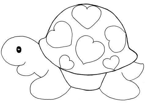 imagenes de corazones simples dibujos de corazones para colorear y pintar