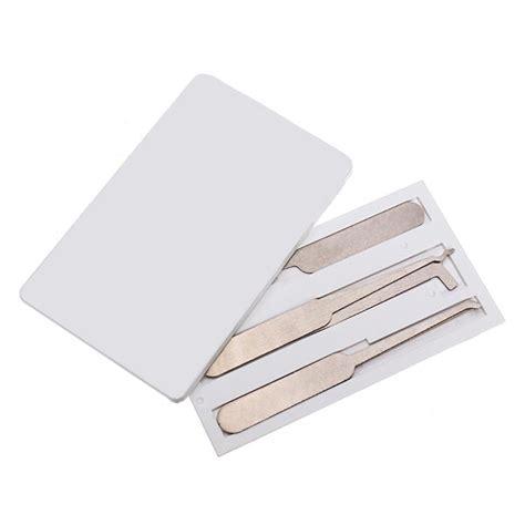 Credit Card Lock Set credit card lock set locksmith tools lock mini tools us 3 37