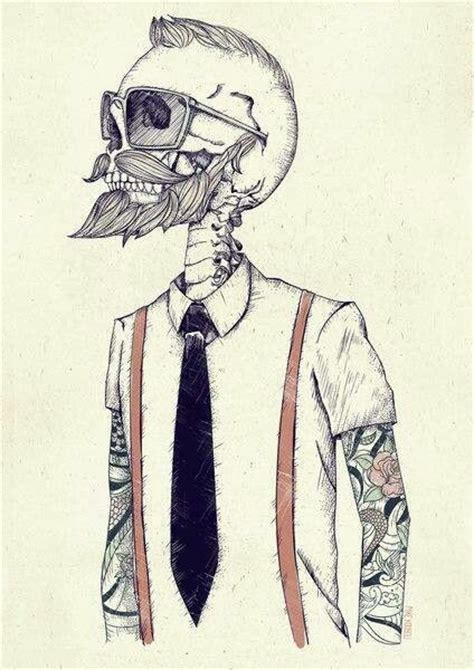 imagenes hipsters art hipster tattoos skull girl wallpaper cute kawaii