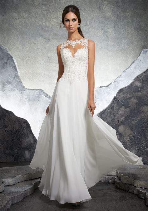 Wedding Prom Dress by Keisha Wedding Dress Style 5606 Morilee