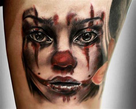 tattoo disasters clown tattoos best 25 clown tattoo ideas on pinterest evil clown