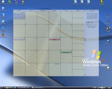 Calendar Desktop Windows 8 Outlook On The Desktop Outlook Kalender Stets Auf Dem