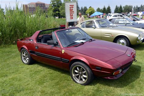 auction results and data for 1987 fiat x1 9 bertone x1 9