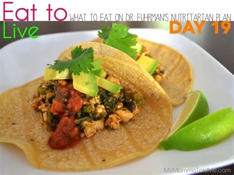 Dr Fuhrman Detox Symptoms by Day 19 What To Eat On Dr Furhman Eat To Live Nutritarian