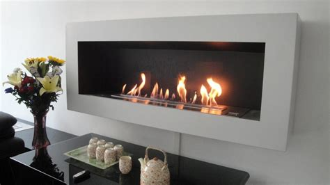 smart ethanol fireplace with remote safety