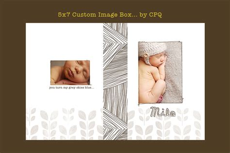 image box free template for photoshop photo treasury