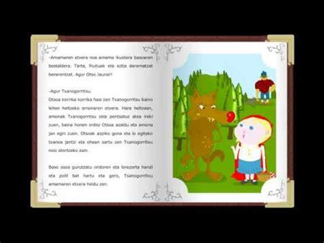 cuentos clasicos para soar txanogorritxu cuentos cl 225 sicos infantiles en euskera relat youtube