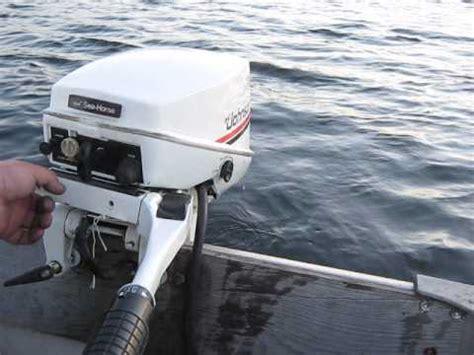 1983 johnson 15hp outboard motor youtube