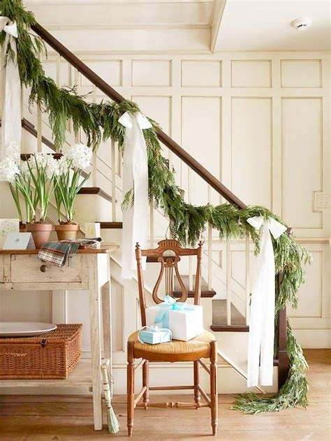 live garland decor inspired stairways the inspired room