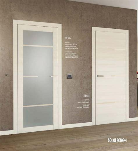 porte interne classiche con vetro porte interne con vetro e porta blindata su misura cesano