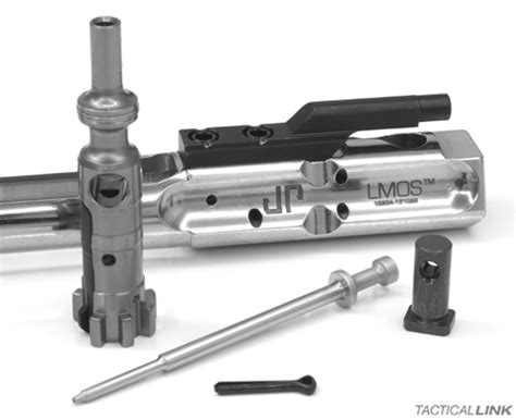 jp rifles polished stainless steel low mass melonited bolt