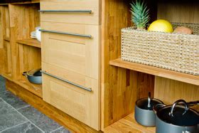 Sustainable Kitchen Cabinets by Create Sustainable Oak Kitchens In Five Steps Solid Wood