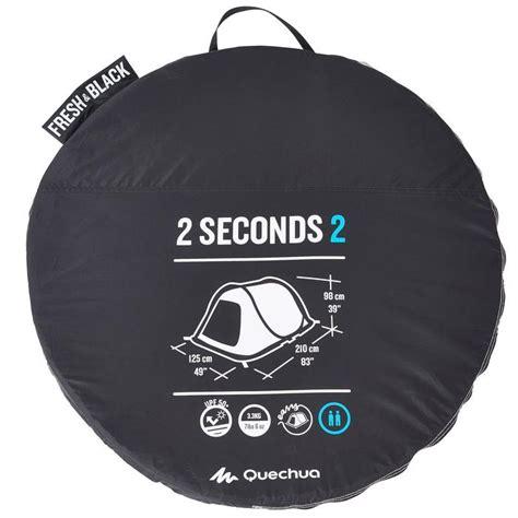 tenda 2 seconds tienda de ca 241 a 2 seconds 2 fresh black 2 personas