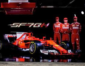 f1 2017 launch pictures of the new sf70h on
