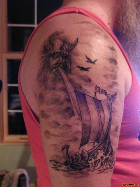 viking longship tattoo design 12 viking ship tattoos on half sleeve
