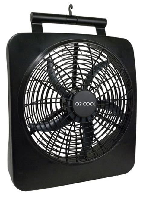 o2cool 10 inch portable o2 cool battery or electric portable fan 10 inches 1071