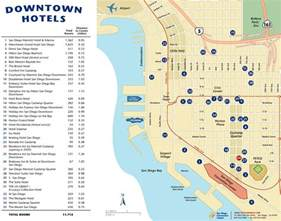 map of hotels in downtown san diego hotel map