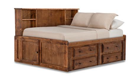 roomsaver bed laguna roomsaver bed american chestnut hom furniture