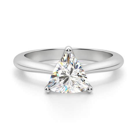bali classic trillion cut engagement ring