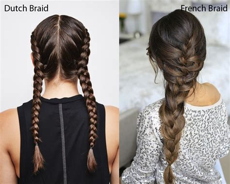 whats the difference bewtween box braids and normal braids dutch braid vs french braid what are the differences