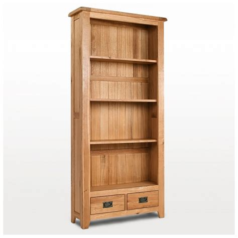 westbury rustic oak bookcase best price guarantee