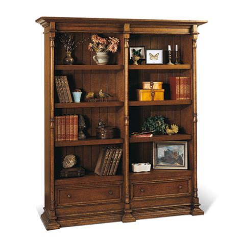 old biscayne designs reilly bookcases double bookcase