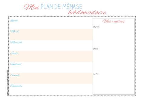 planning femme de chambre planning m 233 nage archives accro 224 l organisation