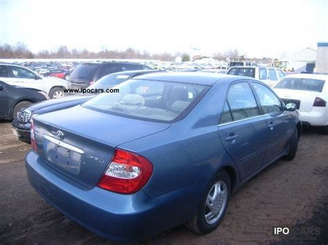 2003 Toyota Camry Specs 2003 Toyota Camry Car Photo And Specs