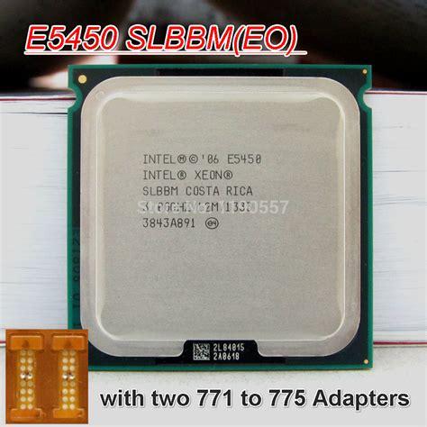 aliexpress xeon intel xeon e5450 processor 3 0ghz 12mb 1333mhz quad core