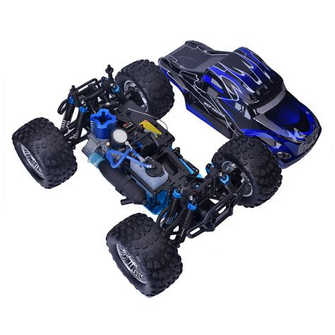 truck nitro 4 hsp 94188 1 10 scale rc car road 2 4g 4wd