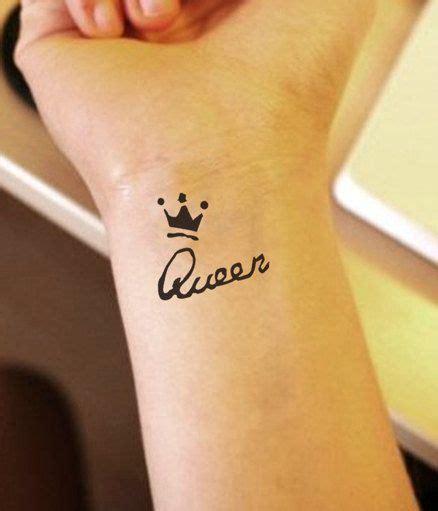 queen henna tattoo queen tiara temporary tattoo sticker crown by spring1911