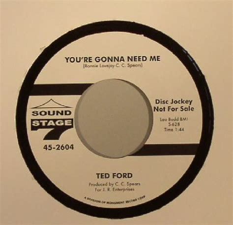 ted ford ted ford you re gonna need me vinyl at juno records