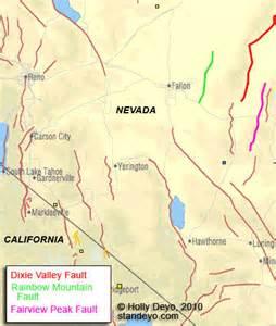 california nevada fault map millennium ark news