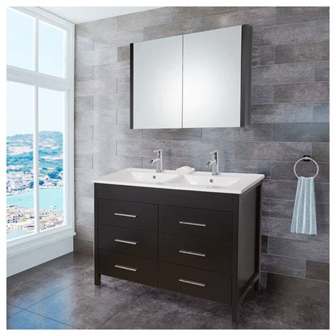 bathroom vanity double sink 48 inches vigo vg09042002k 48 inch maxine double bathroom vanity