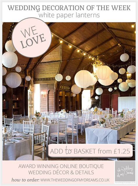 Paper Wedding Decorations Uk by White Paper Lanterns Wedding Decorations Hanging Decor