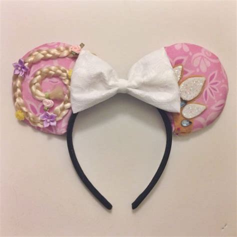 Handmade Mickey Mouse Ears - rapunzel mouse ears and ears on