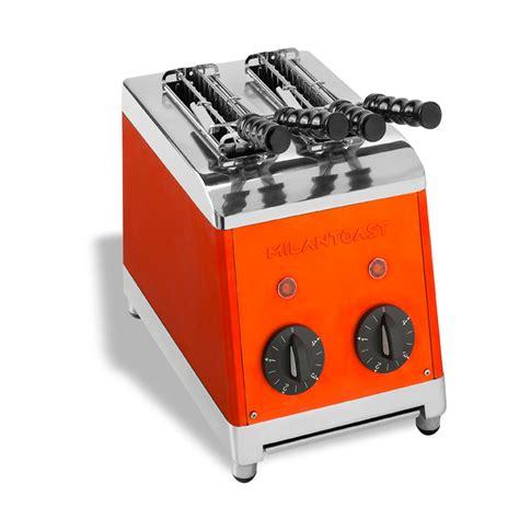 tostapane 4 toast tostapane a 2 pinze milan toast arancio ideale per