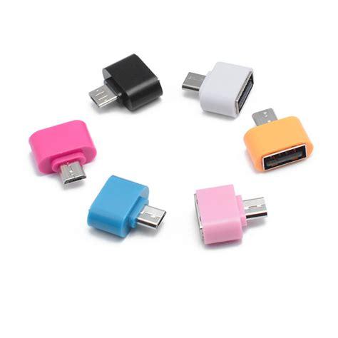 Mini Otg 100 tested colorful mini otg cable usb otg adapter micro