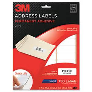 3m return address labels template images frompo
