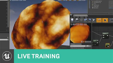 tutorial video fx live using material effects live training unreal engine