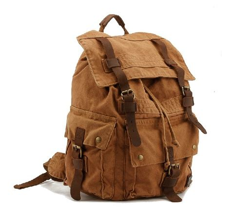 outdoor back packs canvas backpacks outdoor backpack unusualbag