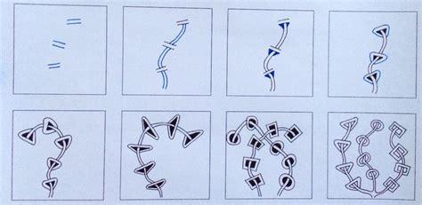 doodlebug exploration tangle rixty exploration what a tangled zen