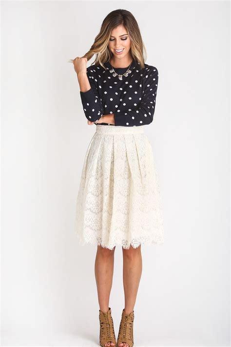 7 Favorite Winter Skirts by White Lace Skirt Ideas Www Pixshark