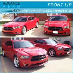 Dodge Charger Front Lip For 2011 2014 Dodge Charger 4 Door Sedan Oe Style Pp Front